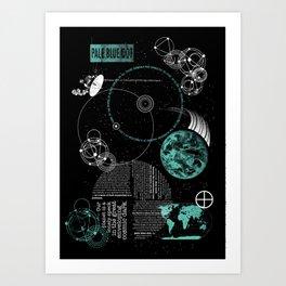 Pale Blue Dot Art Print