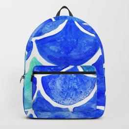 Mermaid Scales Blue & Turquoise Backpack