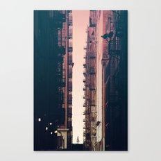Between the Buildings - Downtown LA #36 Canvas Print