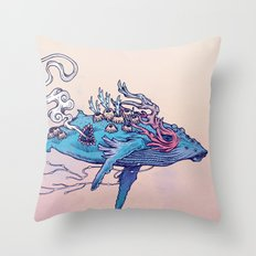 The Last Whale Throw Pillow