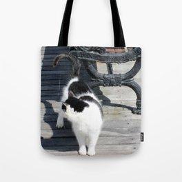 Boardwalk Kitty Tote Bag