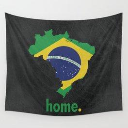 Brazil Proud Wall Tapestry