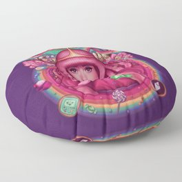 She's Got Science Floor Pillow