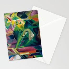 Franz Marc, Deer in a Monastery Garden, 1912 Stationery Cards