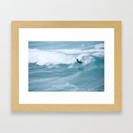 bondi beach Framed Art Print