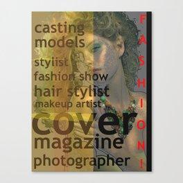 Fashion bitch Canvas Print