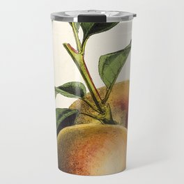 A peach plant - vintage illustration Travel Mug