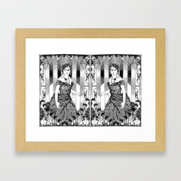 anna & anna karenina Framed Art Print