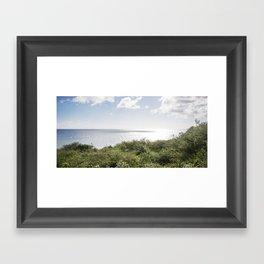 Curaçao - Playa Framed Art Print