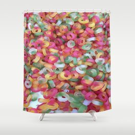 Jelly Rings Shower Curtain