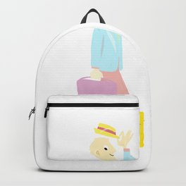 Summer is coming! Holidays ! Backpack