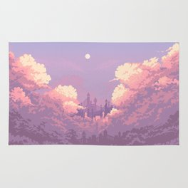 Pastel Castle Rug