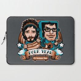 Folk Yeah Laptop Sleeve