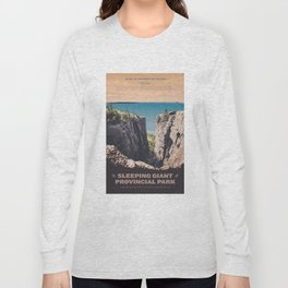Sleeping Giant Provincial Park Long Sleeve T-shirt
