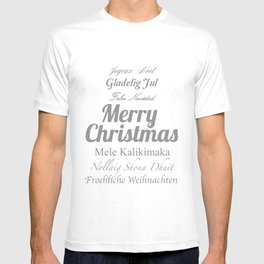 Merry Christmas Many Times Over T-shirt
