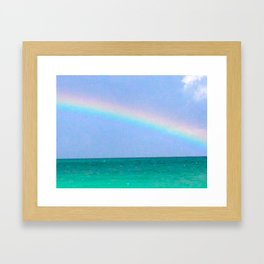 tropical promise Framed Art Print