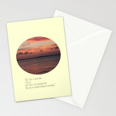 The Sun Shines On Everything Stationery Cards