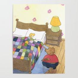 Goldilocks Caught Sleeping Poster