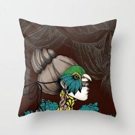 Sur un Air de Musette Throw Pillow