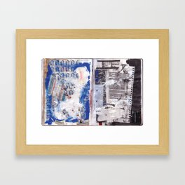 Letter to Paris Framed Art Print