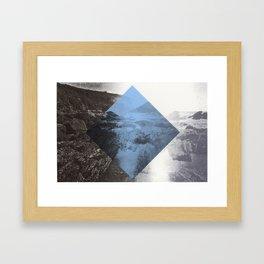 Blue Diamond Framed Art Print