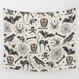 Halloween X-Ray Wall Tapestry