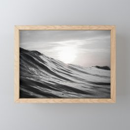 Motion of Water Framed Mini Art Print