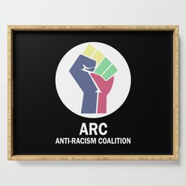 ARC Anti-racism Coalition Serving Tray
