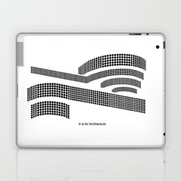 Frank - A is for Architecture Laptop & iPad Skin