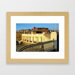 Lower Promenade, Gynn - Blackpool Framed Art Print