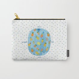 Pineapple Pura Vida Carry-All Pouch