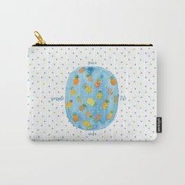 Pineapple Pura Vida Carry-All Pouch