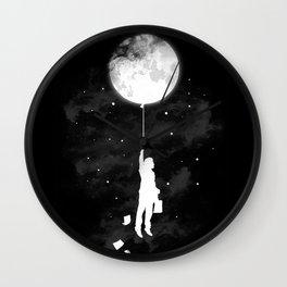 Midnight Traveler Wall Clock