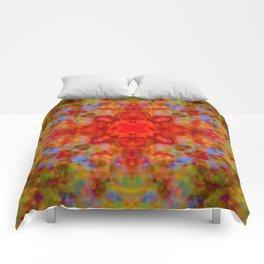 Crabapple Delicacy Comforters