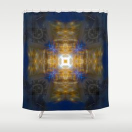 Woodford Fireplace Shower Curtain