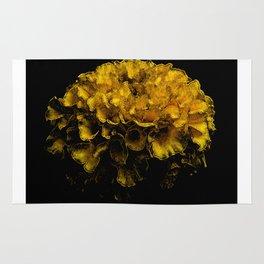 Beautiful Yellow Flower Rug