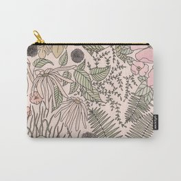Alone in the Flowers Carry-All Pouch