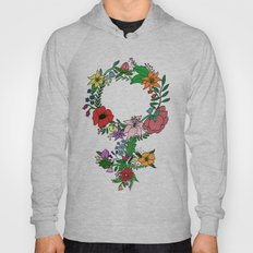 Feminist flower in color Hoody