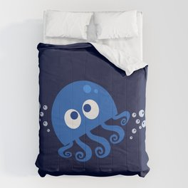 Bubbly Octopus Comforters