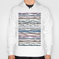 mineral Hoodies featuring Mineral Stripes by artberry