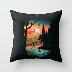 Swing Away Throw Pillow