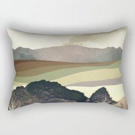 Retro Afternoon Rectangular Pillow