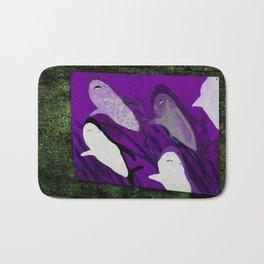violet sharks Bath Mat