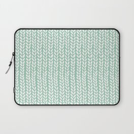 Knit Wave Mint Laptop Sleeve