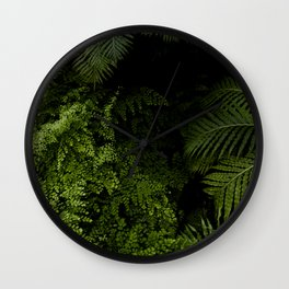 Tropical jungle. Wall Clock