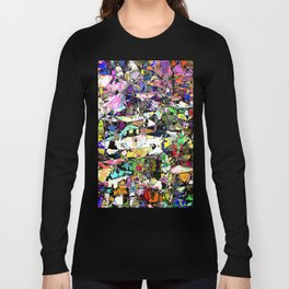 Chaos In Color Long Sleeve T-shirt