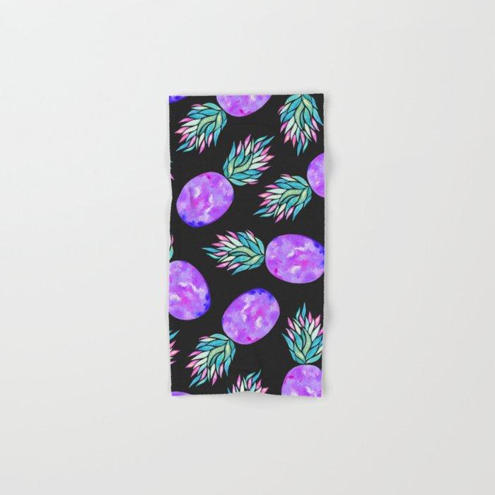 Pineapple à la mode Hand & Bath Towel