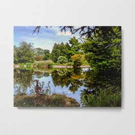 Lakeside reflections. Metal Print