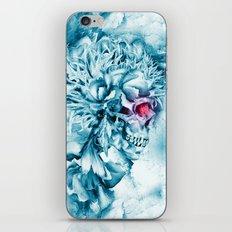 Frozen Skull iPhone & iPod Skin