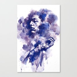 Study in Blue Canvas Print